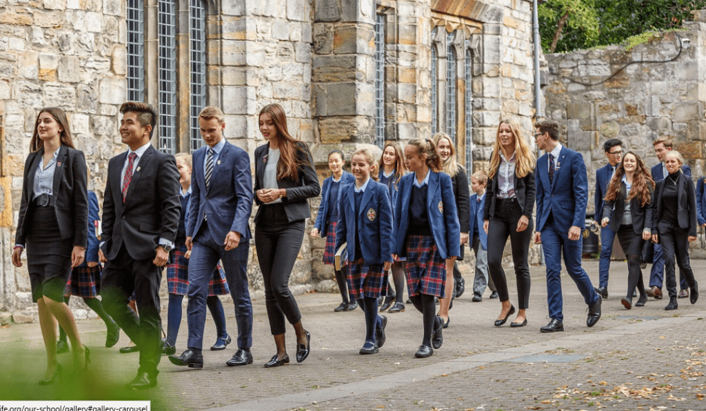 St Leonard's Fife senior school